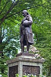 Benjamin Franklin statue, Old City Hall, Boston - DSC05879.jpg