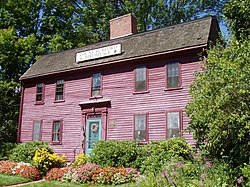 Benjamin Thompson Birthplace, Woburn, Massachusetts.JPG