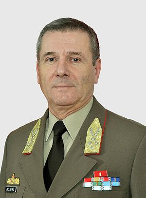 General Staff of the Armed Forces of the Republic of Hungary - Colonel General Tibor Benkő
