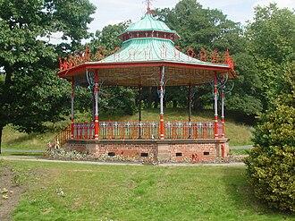 Bandstand - Bandstand at Sefton Park, Liverpool, England