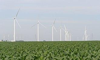Benton County Wind Farm - Image: Benton County Wind Farm 0011