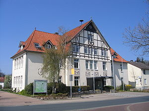 Bergen, Lower Saxony - Bergen town hall
