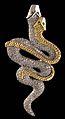 Berloque Natan - Ouro amarelo + Prata com brilhantes e olhos de esmeralda (2292764152).jpg