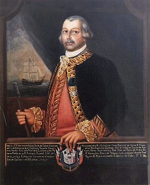 Battle of Fort Charlotte - Bernardo de Gálvez