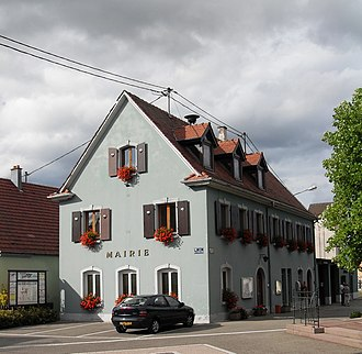 Berrwiller - The town hall