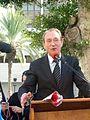 Bertrand Delanoë in The inauguration ceremony renovation Paris Square in Haifa (9).jpg