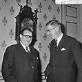 Besprekingen over ontwikkelingshulp door de Westduitse minister H.J. Wischnewski, Bestanddeelnr 920-9806.jpg