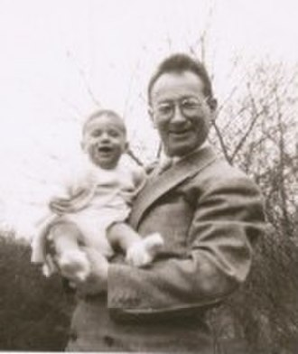 Afroyim v. Rusk - A 1947 photo of Beys Afroyim and his infant son Amos