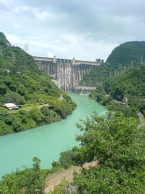 History of agriculture in the Indian subcontinent - Bhakra Dam (completed 1963) is the largest dam in India.