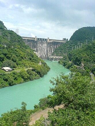 Bhakra Dam - The Bhakra Dam