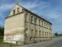 Białystok, ul. Kijowska 1, 1930, budynek fabryki.JPG