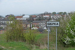 Skyline of Bibrka