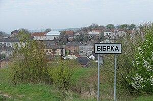 Bibrka - Skyline of Bibrka