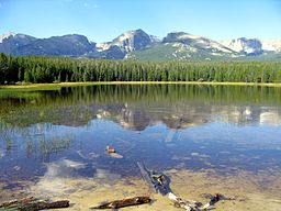 Bierstadt Lake, Rocky Mountain National Park, USA