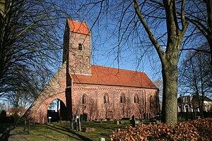 Bierum - Protestant Sebastian Church in 2009