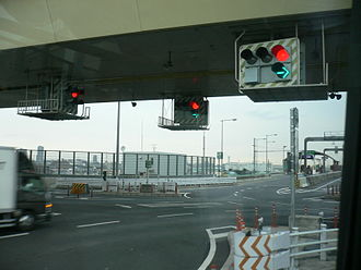 Tokyo Gaikan Expressway - Image: Bijogi Jct 2005 02 18