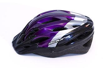 https://upload.wikimedia.org/wikipedia/commons/thumb/1/1b/Bike_helmet.jpg/330px-Bike_helmet.jpg