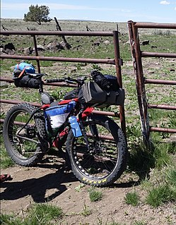 Mixed terrain cycle touring