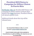 Bill Clinton to campaign for Hillary in Puerto Rico.jpg