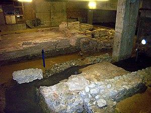 Roman house at Billingsgate - Image: Billingsgate roman house