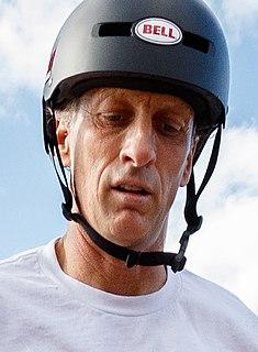 Tony Hawk American skateboarder and actor