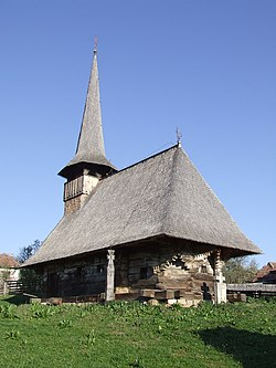 Wooden Church in Baica
