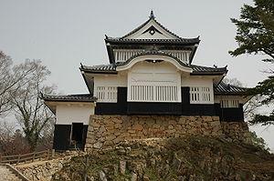 Bitchū-Matsuyama Domain - The keep of Bitchū-Matsuyama Castle