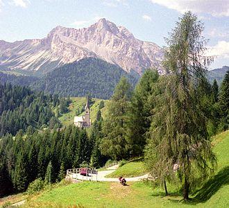 Carnia - Monte Bìvera near Sauris