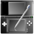 Black Nintendo DS with pen icon.png
