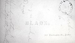 Black photographer 163 Washington Street Boston USA verso.jpg