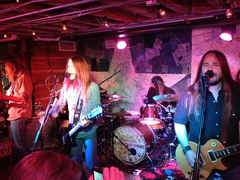 Blackberry Smoke performing in 2012 Blackberry Smoke in 2012.jpg