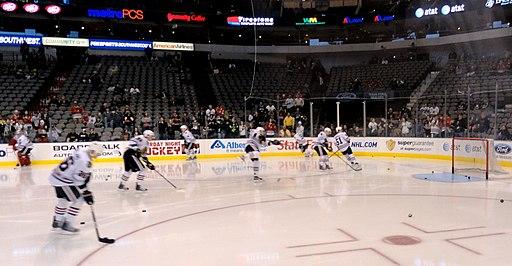 Blackhawks pregame skate (5441779795)