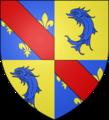Blason comte fr Montpensier (Bourbon2).png