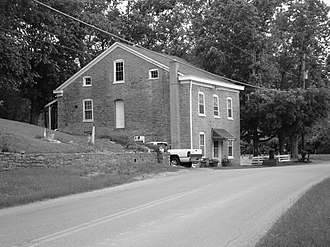 National Register of Historic Places listings in Campbell County, Kentucky - Image: Blau's Four Mile House (Reitman House), Camp Springs, Kentucky