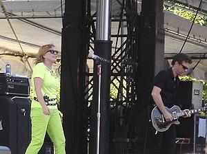 Blondie bei einem Auftritt (2006)