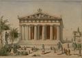 Blouet, Abel, temple d'Alphaia à Egine, expMorée couv t3, circ1820.png