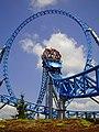 Blue Fire Megacoaster - Europa-Park - Durchfahrt des Loopings.jpg