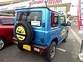Blue Suzuki Jimny XC (3BA-JB64W-JXCR-J) rear.jpg
