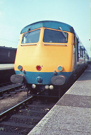 British Rail Classes 251 and 261 - Blue Pullman at Swansea in 1967