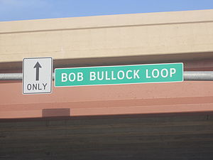 Bob Bullock - The Bob Bullock Expressway in Laredo, Texas is an outlying segment of Interstate 35.