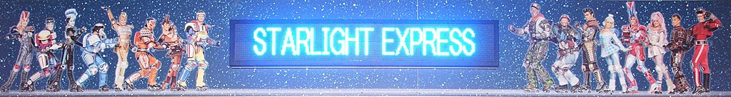 Bochum - Stadionring - Starlight Express at Night