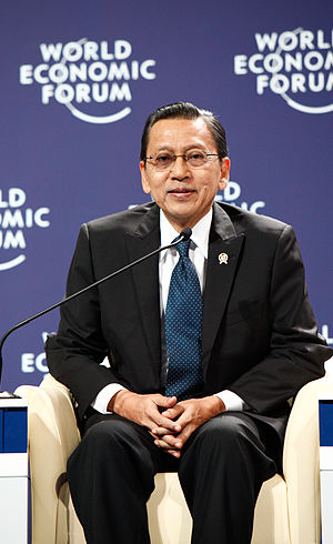 Boediono - Image: Boediono World Economic Forum on East Asia 2011