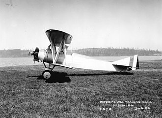 Boeing Model 64 - Image: Boeing Model 64 on wheels