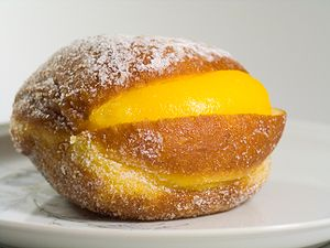 Berliner (doughnut) - Bola de Berlim from Portugal
