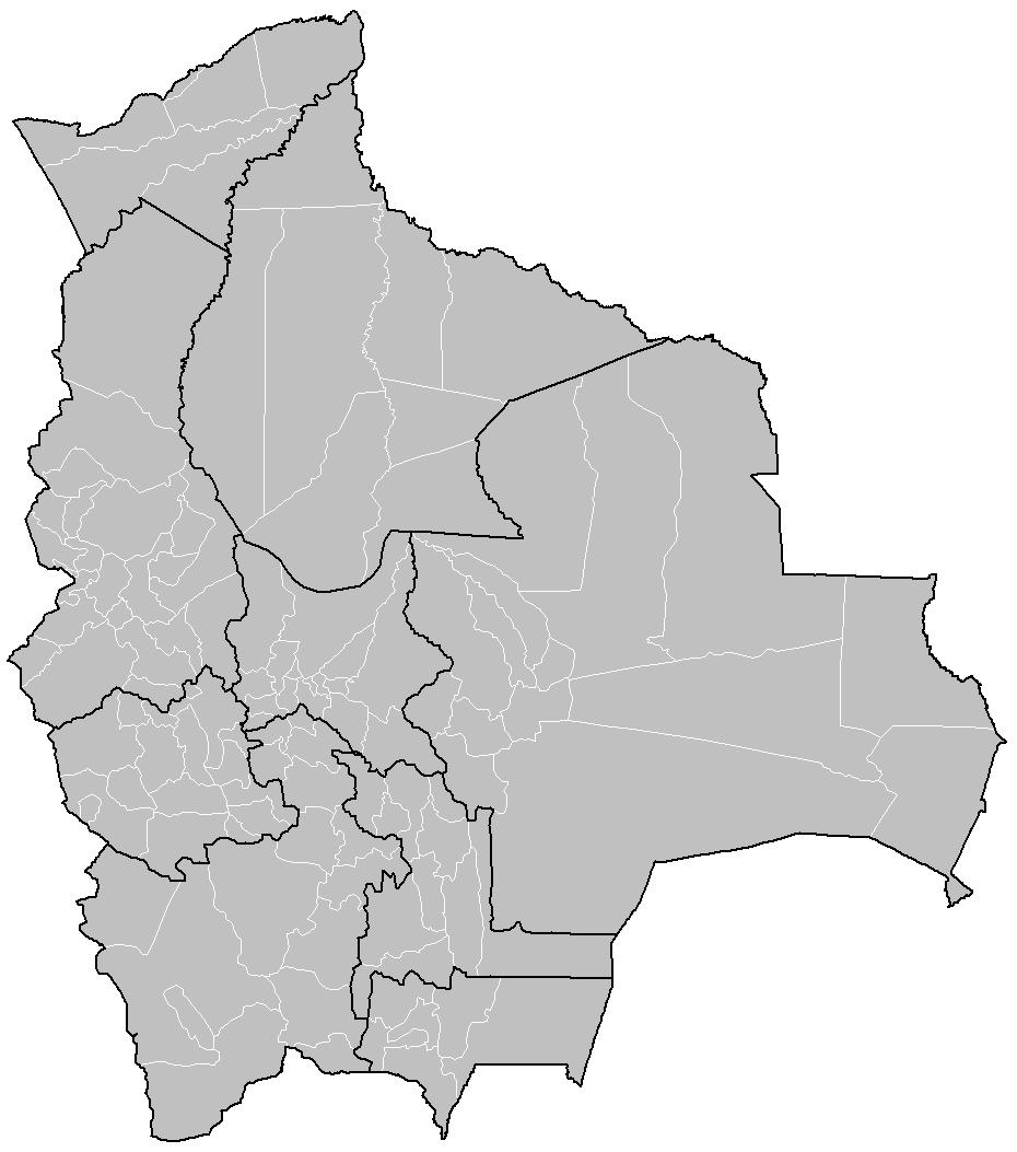 Bolivia provinces