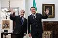 Bolsonaro with Chilean President Sebastián Piñera, Santiago, 23 March 2019.jpg