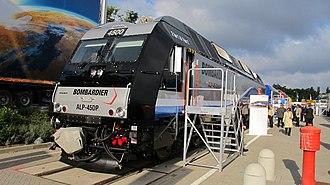 ALP-45DP - Image: Bombardier ALP 45DP Display at Innotrans 2010 Entry Ramp