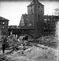 Bombed building, post-WWII Germany (5140511212).jpg