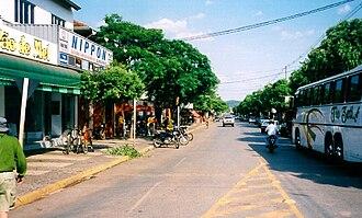 Bonito, Mato Grosso do Sul - Bonito's main street