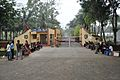 Border Security Force - Campus Entrance - Indian National Highway 34 - Nadia 2013-03-23 6932.JPG